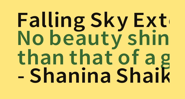 Falling Sky Extended