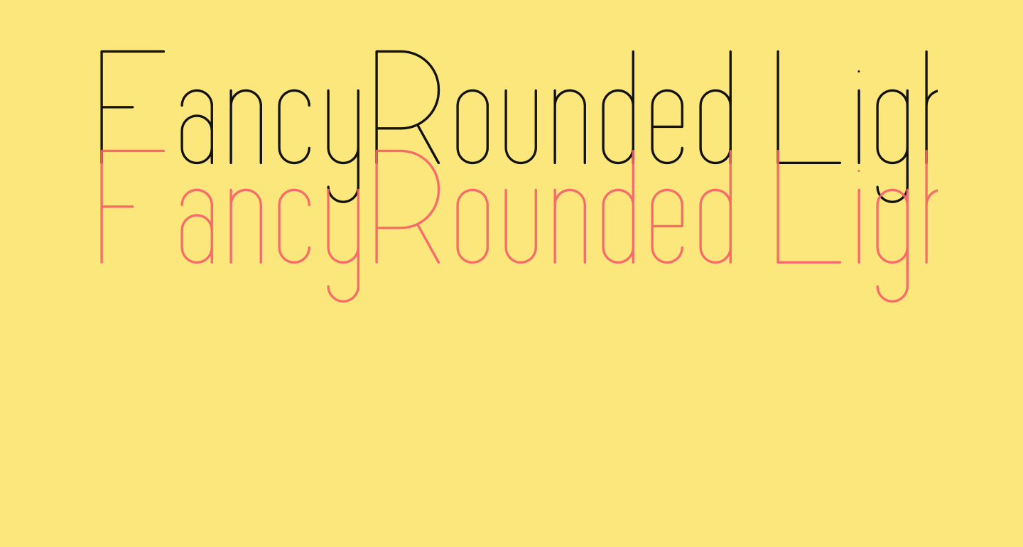 FancyRounded Light