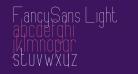 FancySans Light