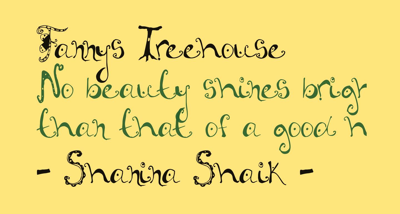 Fannys Treehouse
