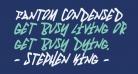 Fantom Condensed Italic