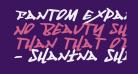 Fantom Expanded Italic