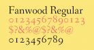 Fanwood Regular