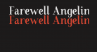 Farewell Angelina Sample