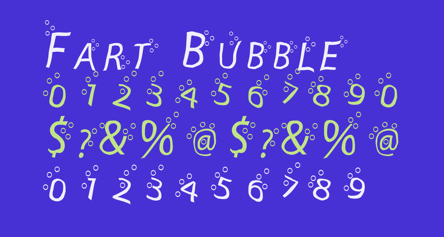 Fart Bubble