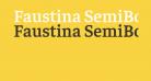 Faustina SemiBold
