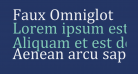 Faux Omniglot