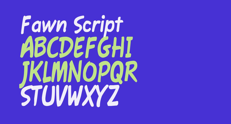 Fawn Script