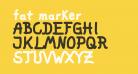 fat marker