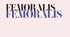 FEMORALIS