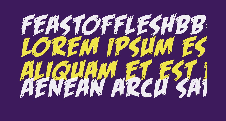 FeastofFleshBB-Italic