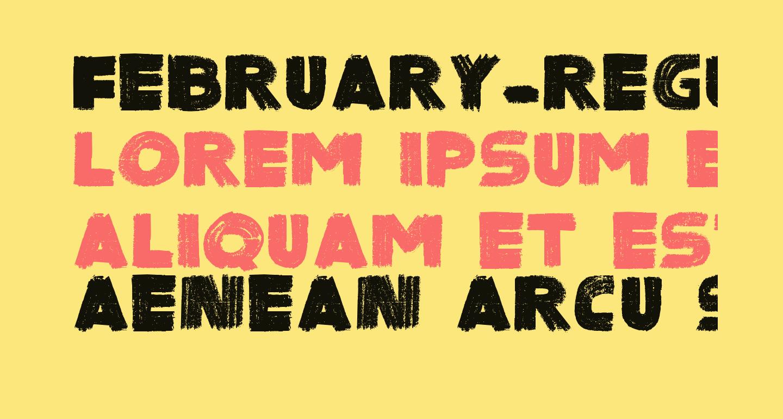 February-Regular