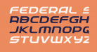 Federal Service Expanded Italic