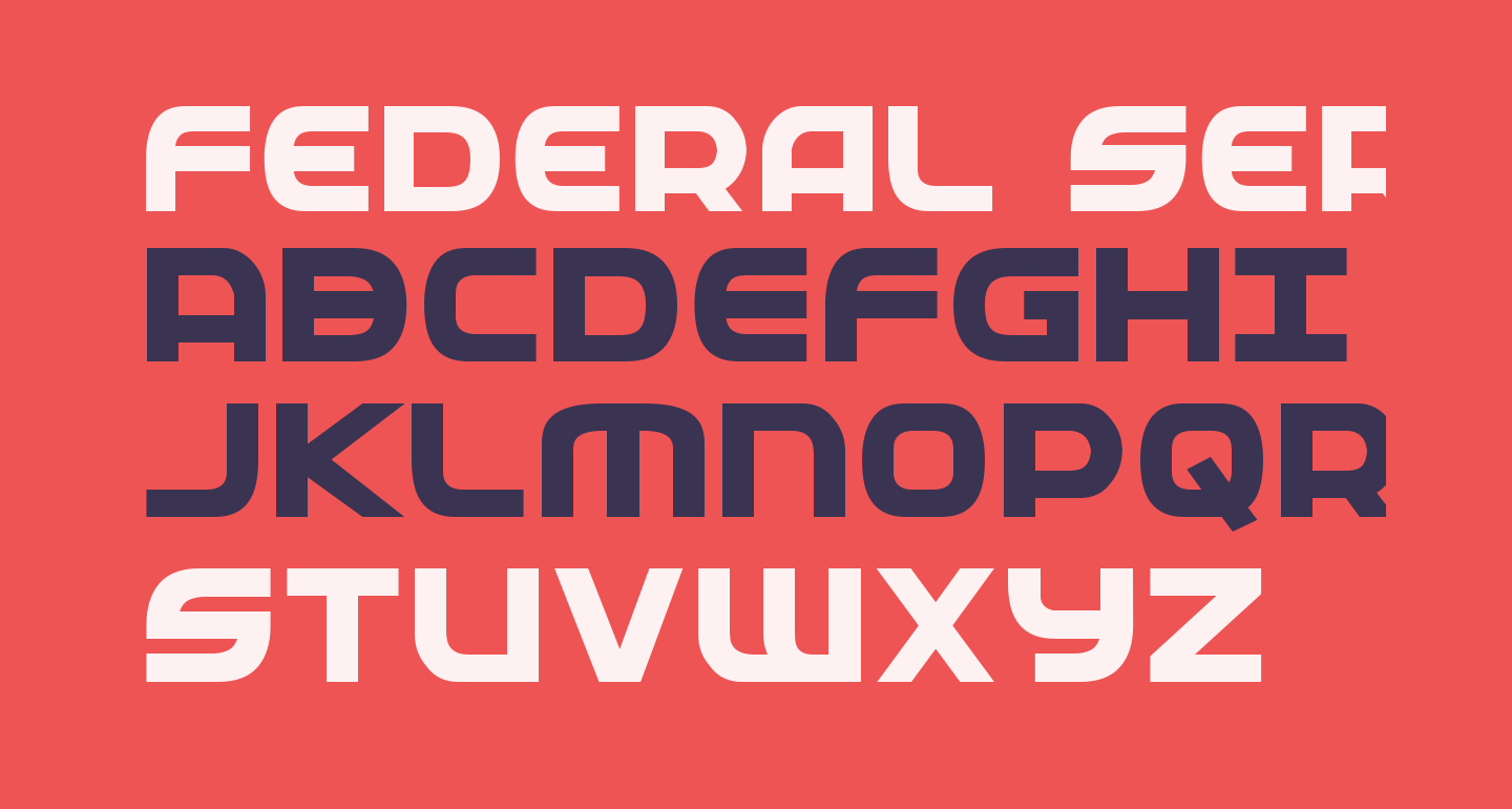 Federal Service ExtraBold