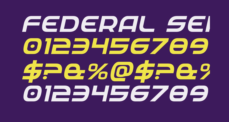Federal Service Italic