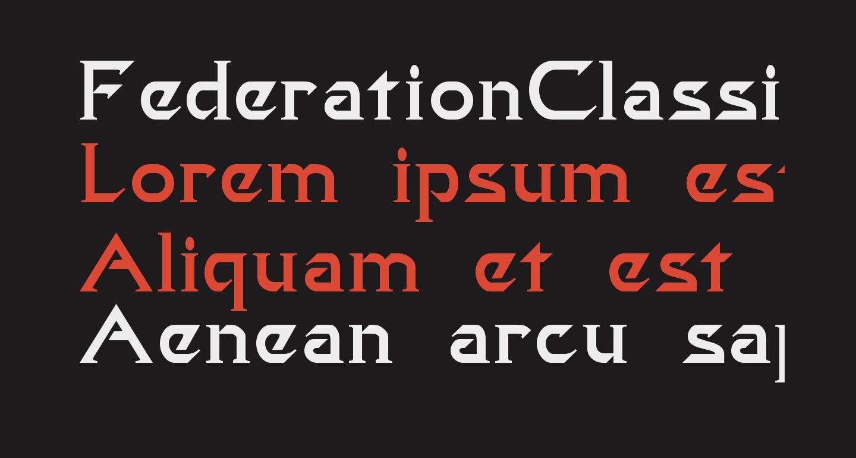 FederationClassicMovie