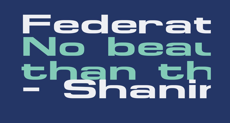 FederationWide