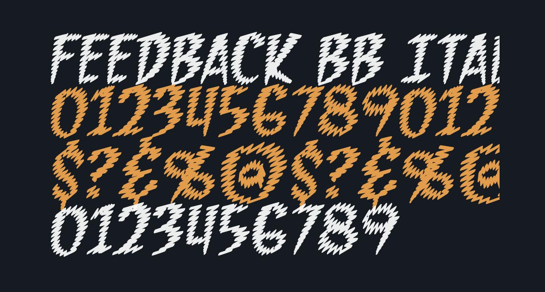 Feedback BB Italic