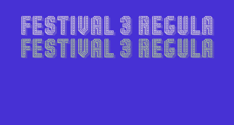 Festival 3 Regular