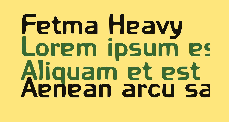 Fetma Heavy