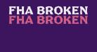 FHA Broken Gothic No2 NC