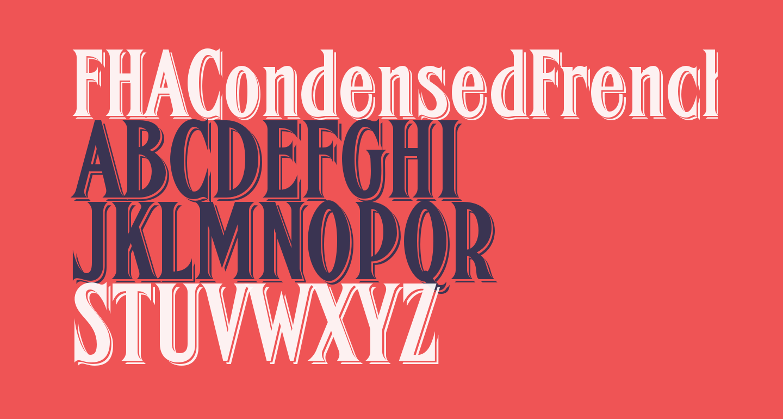 FHACondensedFrenchShadedNC