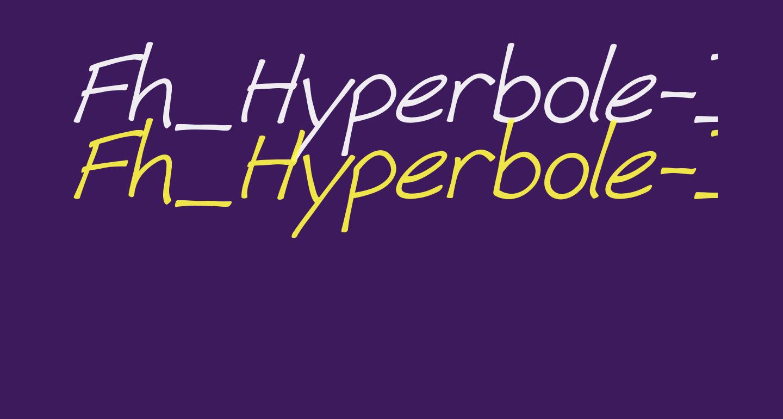 Fh_Hyperbole-Italic