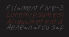 Filament Five-Seven