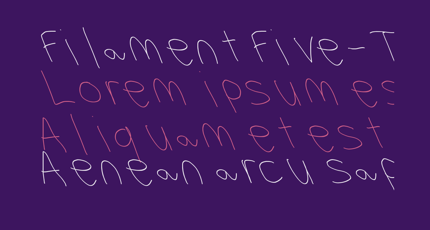 Filament Five-Two