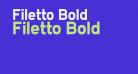 Filetto Bold