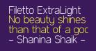Filetto ExtraLight