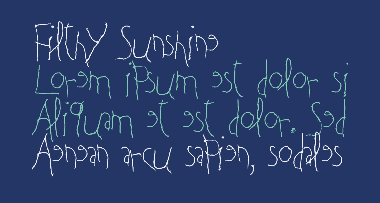 Filthy Sunshine