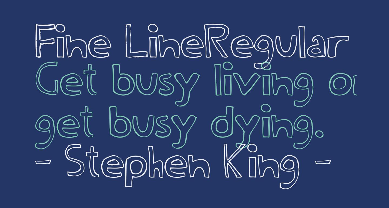Fine LineRegular
