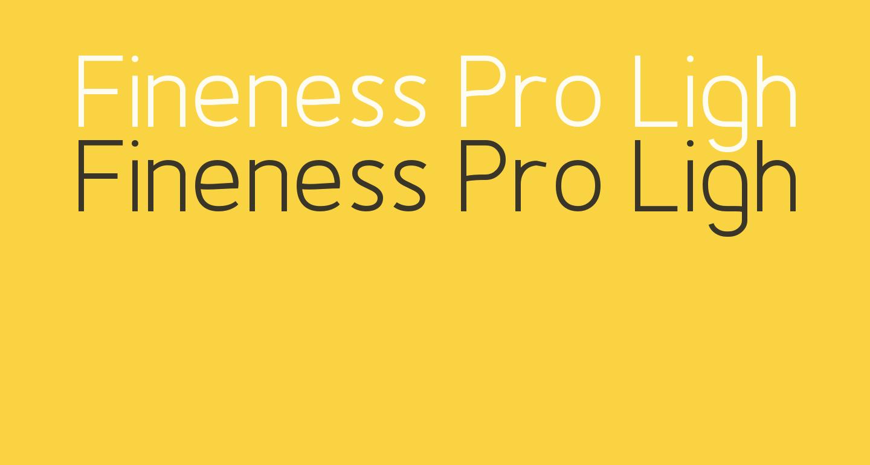Fineness Pro Light
