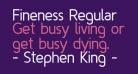 Fineness Regular