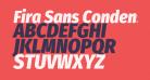 Fira Sans Condensed Black Italic