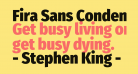 Fira Sans Condensed Black