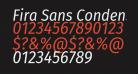 Fira Sans Condensed Italic