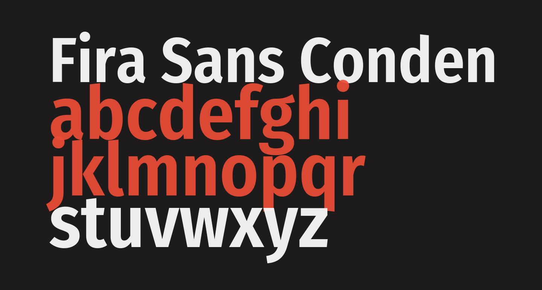 Fira Sans Condensed SemiBold