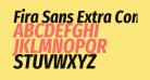 Fira Sans Extra Condensed Bold Italic