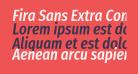 Fira Sans Extra Condensed Medium Italic
