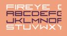 Fireye GF 3 Headline Condensed