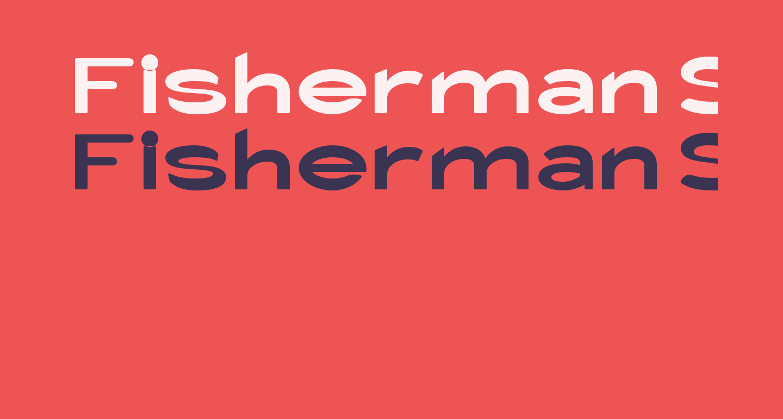 Fisherman Sans Catch