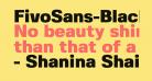 FivoSans-Black
