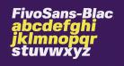 FivoSans-BlackOblique