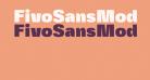 FivoSansModern-ExtraBlack
