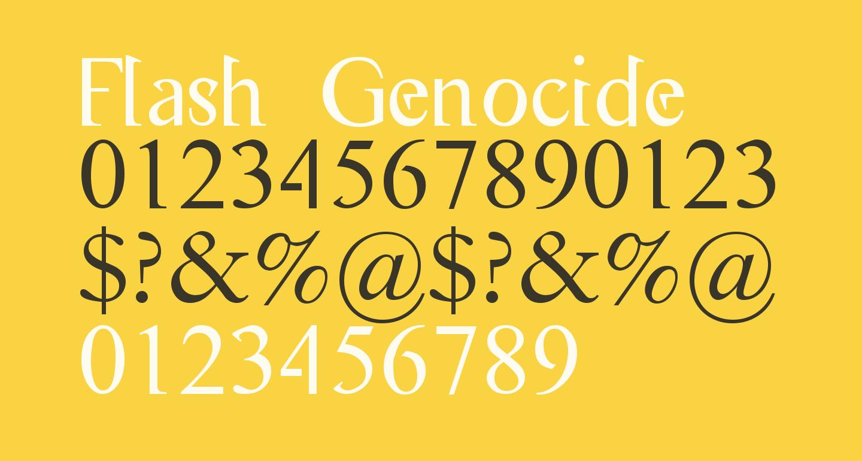 Flash Genocide