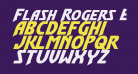 Flash Rogers Expanded Italic