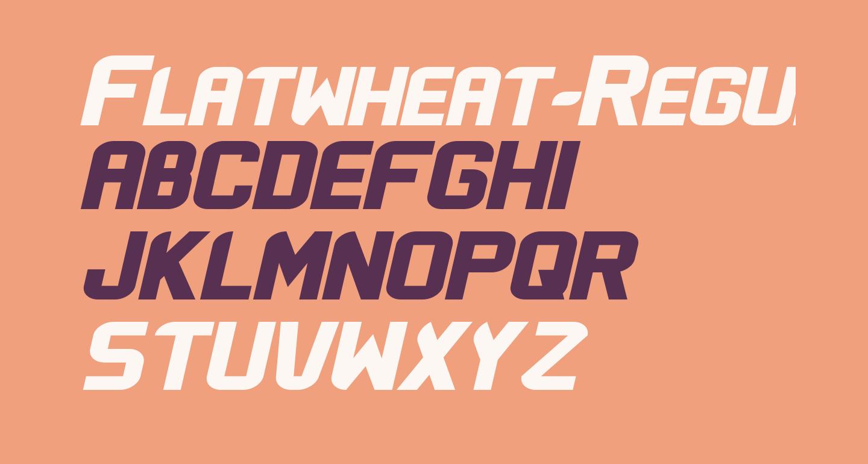 Flatwheat-Regular