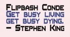 Flipbash Condensed